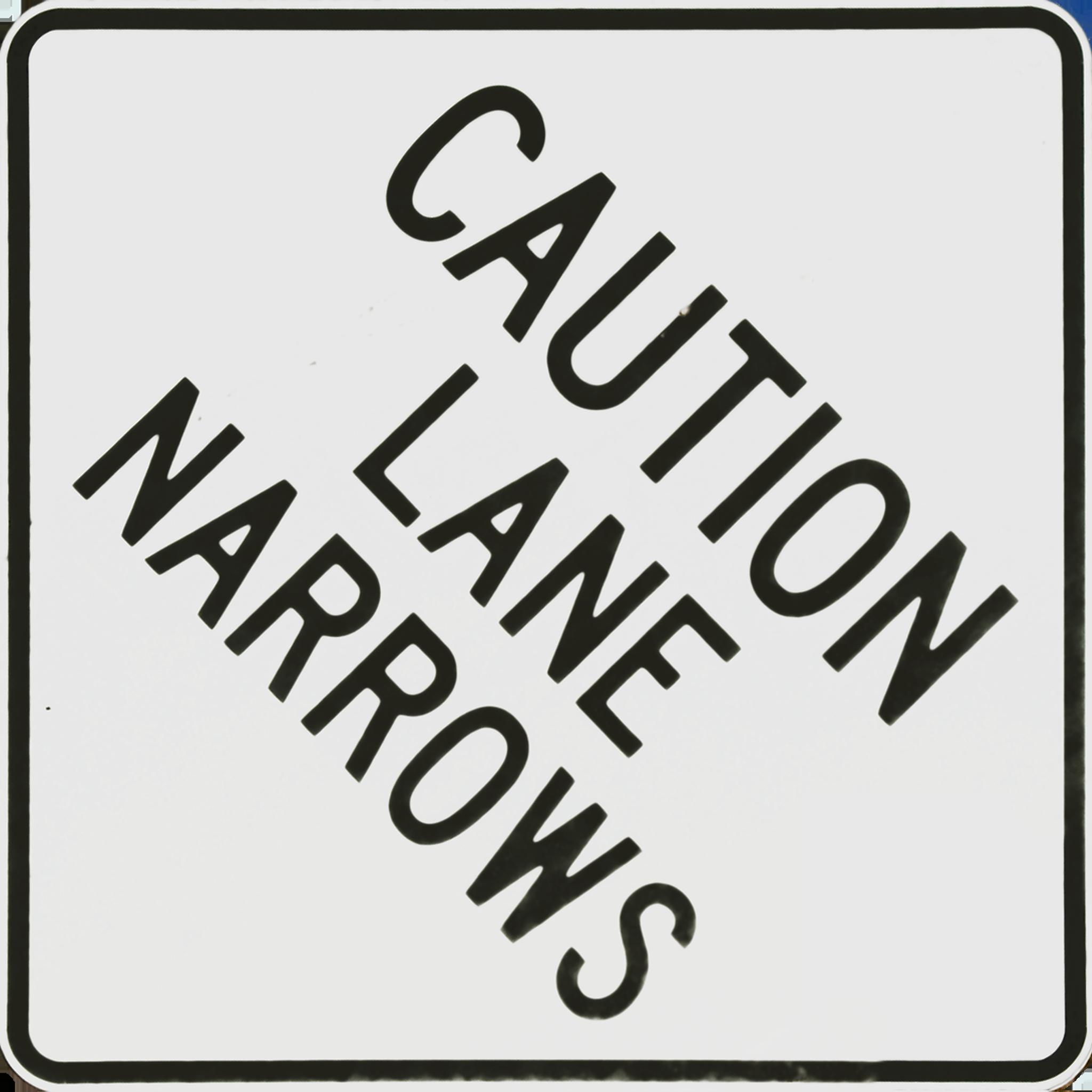 Caution Lane Narrows.png