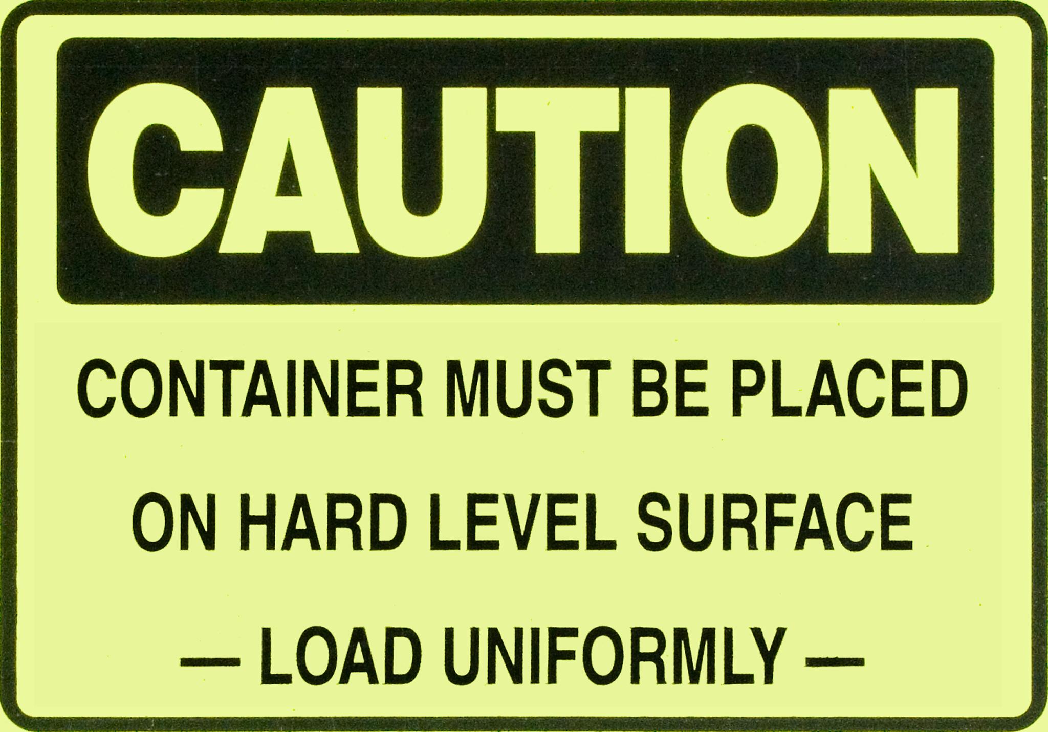 Caution Load Uniformly.png