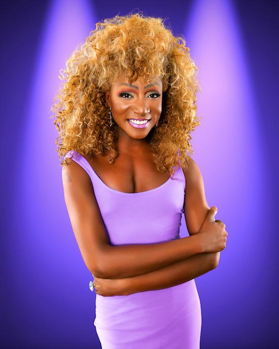 """Kevin Smith Kirkwood as """"Whitney Houston,"""" Photo Credit:Preston Burford"""