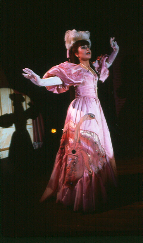 "Mara Beckerman as ""Charlotte"" in the original 1982 production of  Charlotte Sweet"