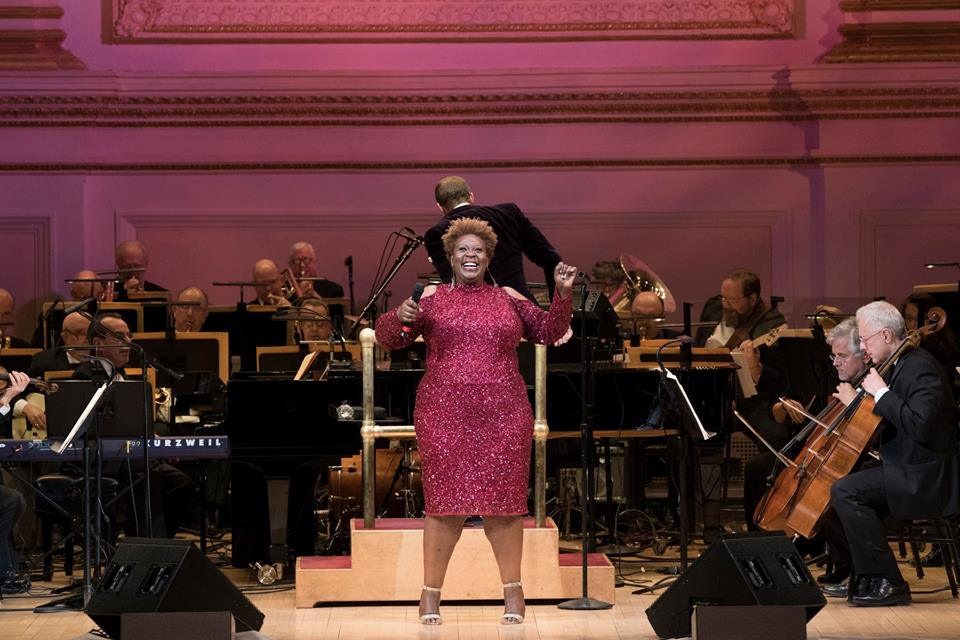 Capathia Jenkins, Steven Reineke, and The New York Pops