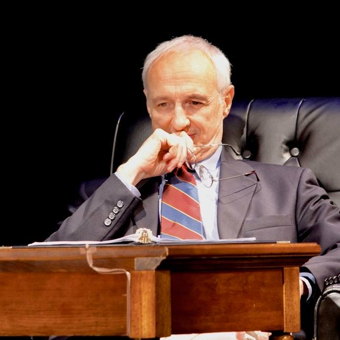 "Michael Gross as ""Andrew"" in a previous production of A.R. Gurney's ""Love Letters"""