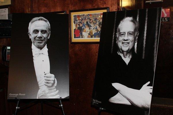 George Rose and Ed Dixon, Photo Credit: Linda Lenzi