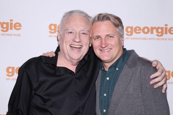 Ed Dixon and Director Eric Schaeffer, Photo Credit: Joseph Marzullo