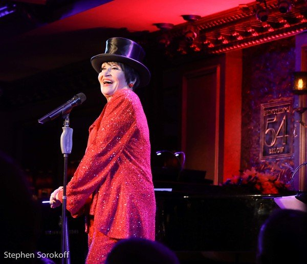 "Chita Rivera performing ""All That Jazz"" at Feinstein's/54 Below, Photo Credit Stephen Sorokoff"