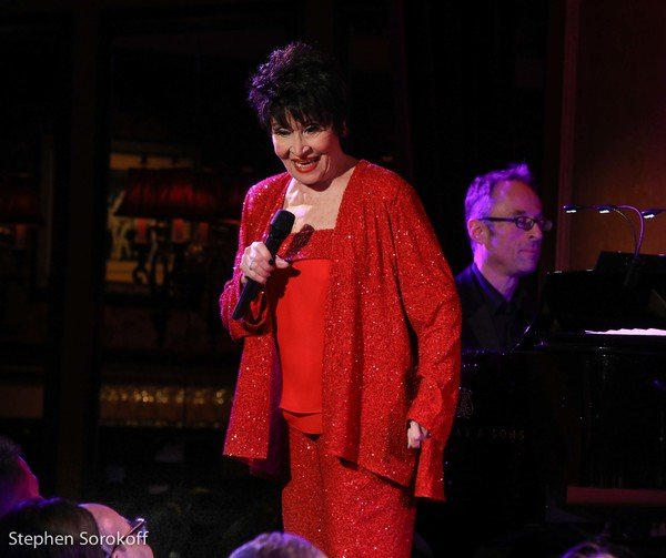 Chita Rivera at Feinstein's/54 Below, Photo Credit: Stephen Sorokoff