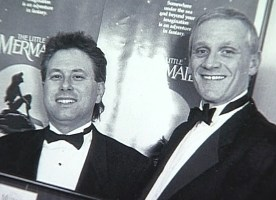 Alan Menken and Howard Ashman
