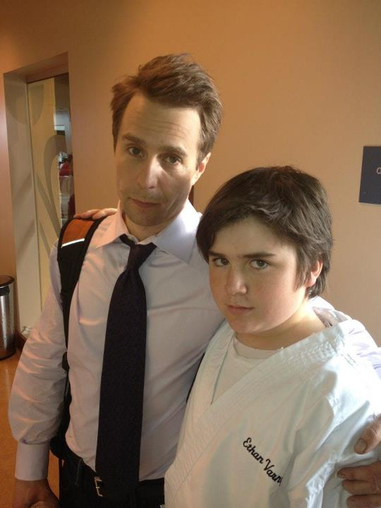 "Harrison Holzer and Sam Rockwell, ""Better Living Through Chemistry"""