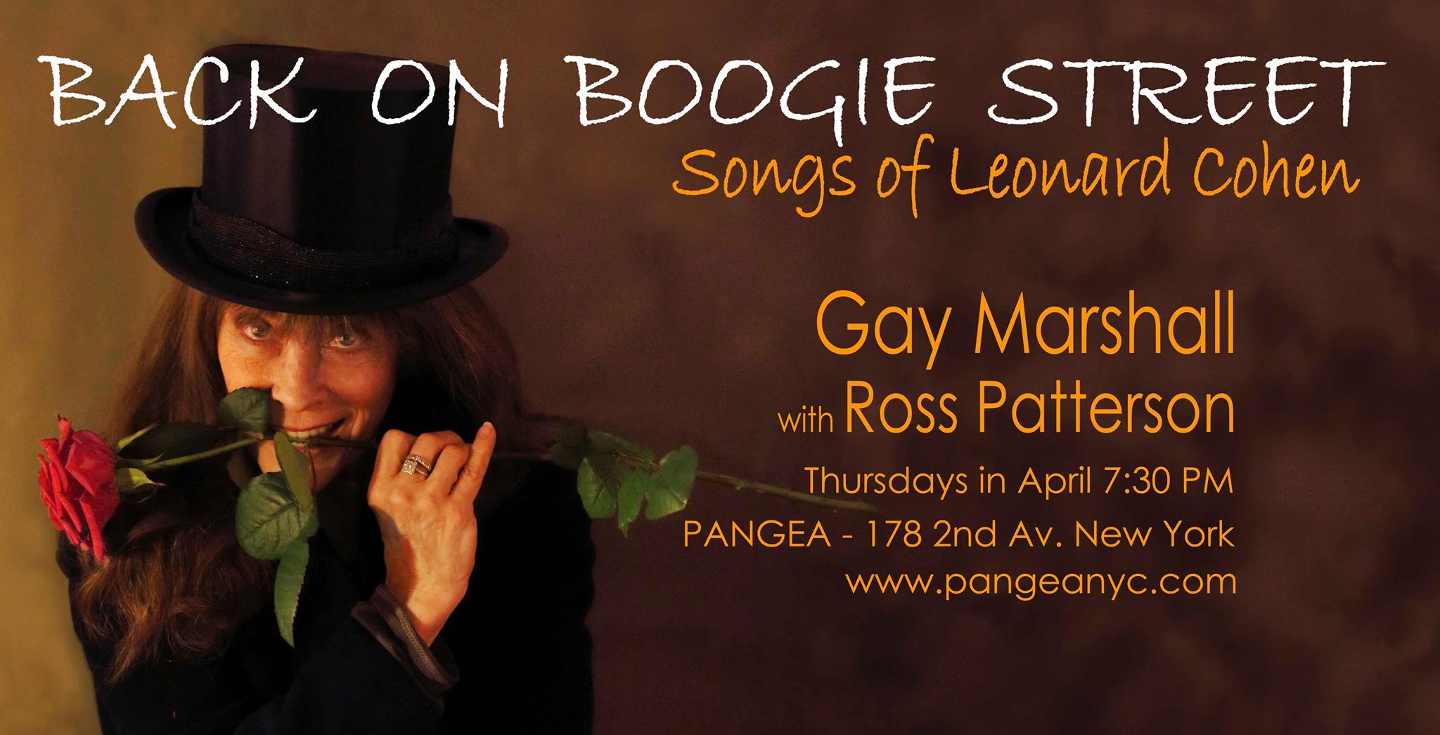 Gay Marshall Back on Boogie Street horizontal poster.jpg