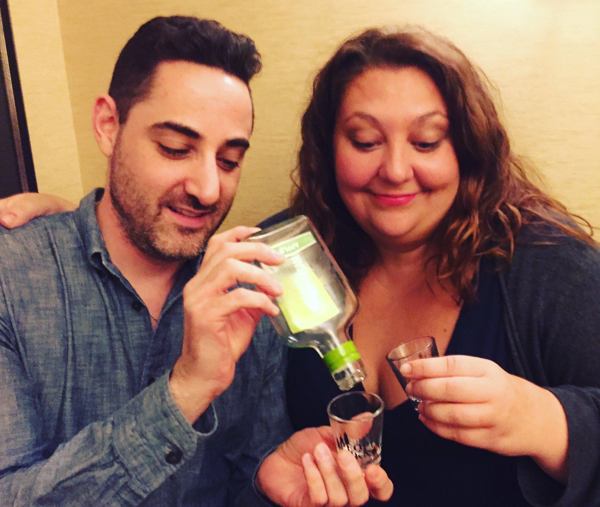 """""""Call Me Adam's"""" Adam Rothenberg & Tori Scott at The Algonquin Hotel NYC"""