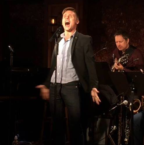 Seth Sikes performing at 54 Below