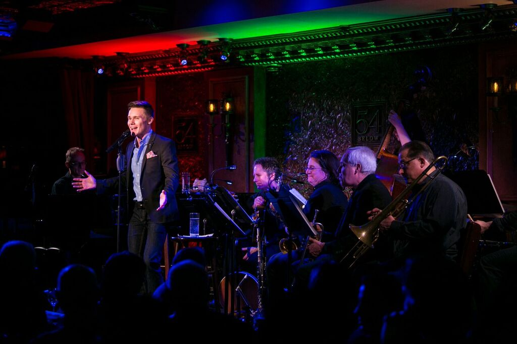 "Seth Sikes performing ""Seth Sikes Sings Liza Minnelli"" at Feinstein's/54 Below"