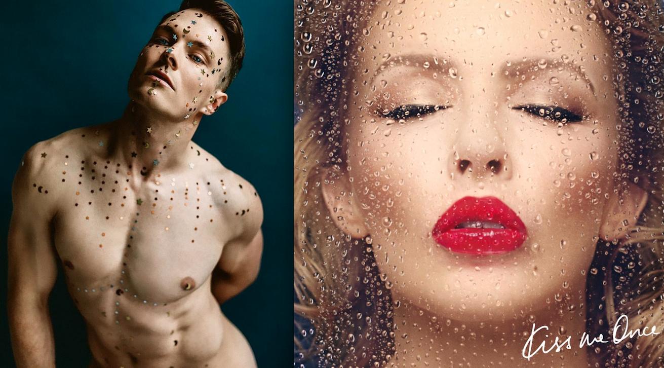 Kim David Smith (Photo Credit:Chantar Photography)and Kylie Minogue