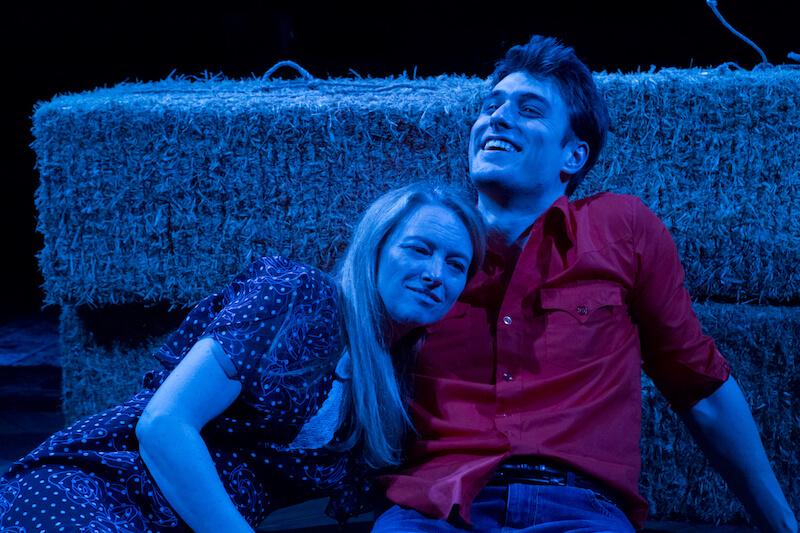 "Fleur Dobbins and Matt Provenza in ""The Rainmaker"""