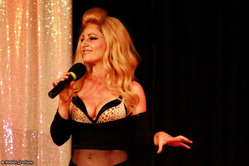 """Nadya Ginsburg performing """"Madonnalogues"""""""