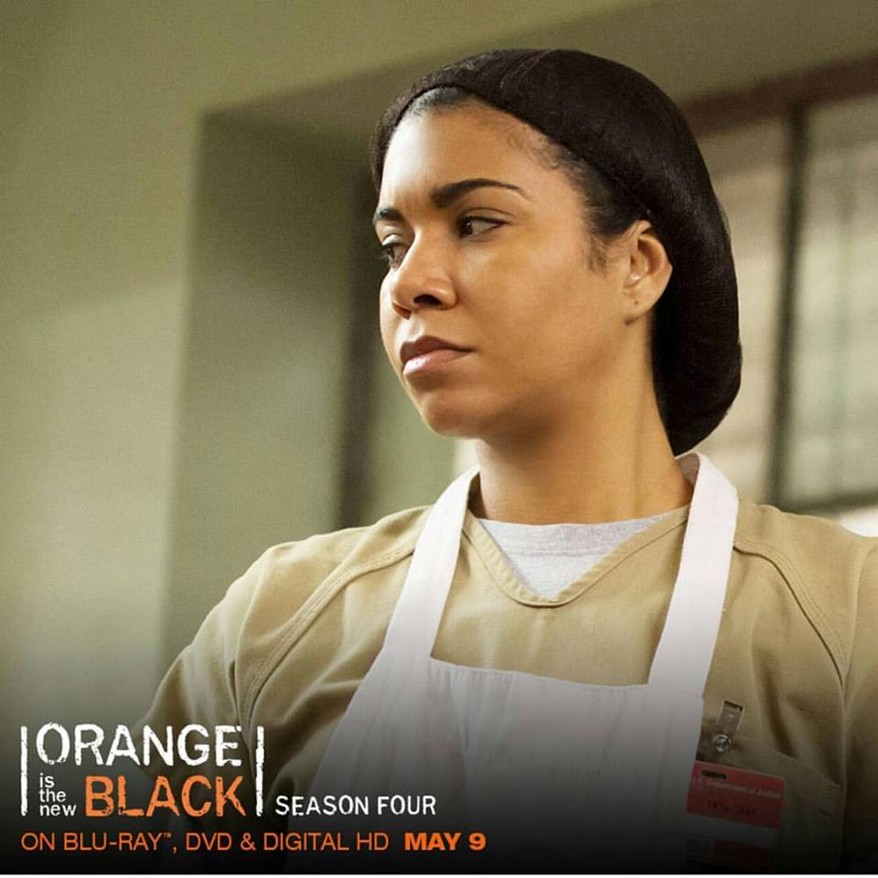 "Jessica Pimentel as ""Maria Ruiz"" on Netflix's ""Orange is the New Black"""