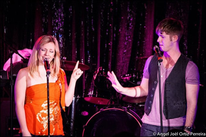 "Tracy McDowell and Eric Michael Krop performing Britney Spears' ""Dear Diary"" in 2010, Photo Credit: Angel Joel Ortiz-Perreira"