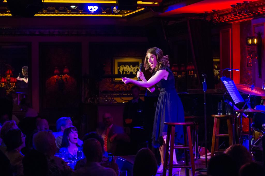 Rachel Ulanet performing at Feinstein's/54 Below, Photo Credit:Takako Harkness Photography
