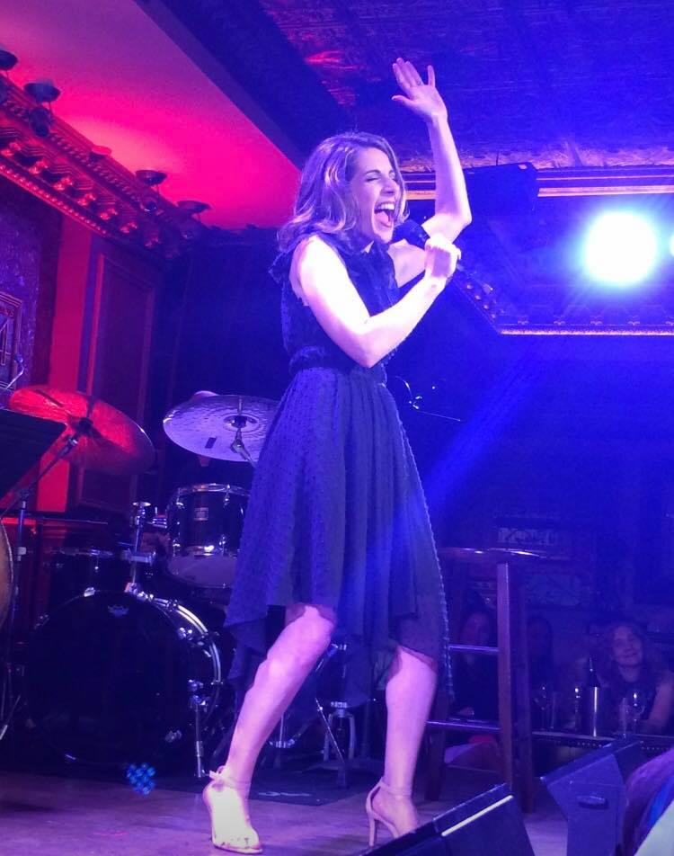 Rachel Ulanet performing at Feinstein's/54 Below, Photo Credit:Steven Sorrentino