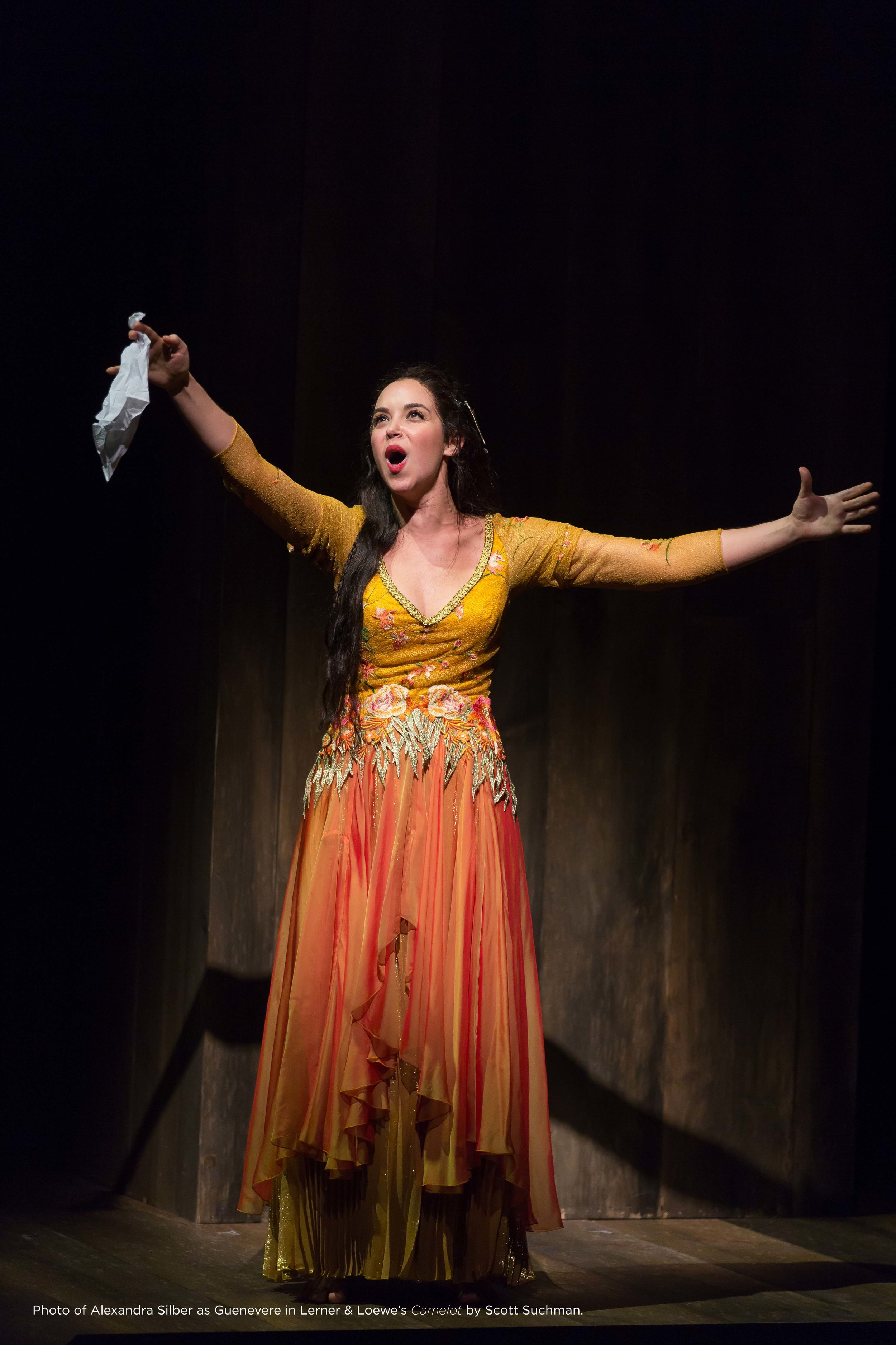 """Alexandra Silber in Lerner & Lowe's """"Camelot"""" at Shakespeare Theatre Company in Washington, DC, Photo Credit:Scott Suchman"""