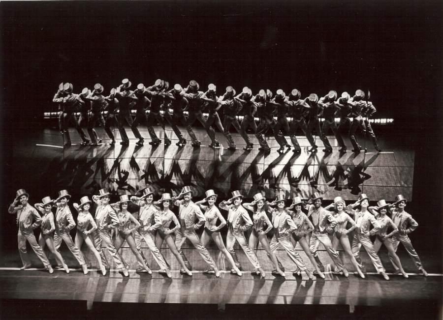 "Original Bus & Truck Touring Cast of ""A Chorus Line,"" 1980, Photo Credit:Martha Swope"