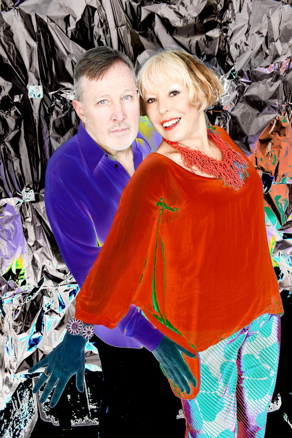 John McDaniel and Barb Jungr, Photo Credit: Steve Ullathome
