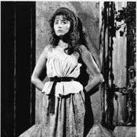 """Frances Ruffelle as the original """"Eponine"""" in London & Broadway's """"Les Misérables"""""""