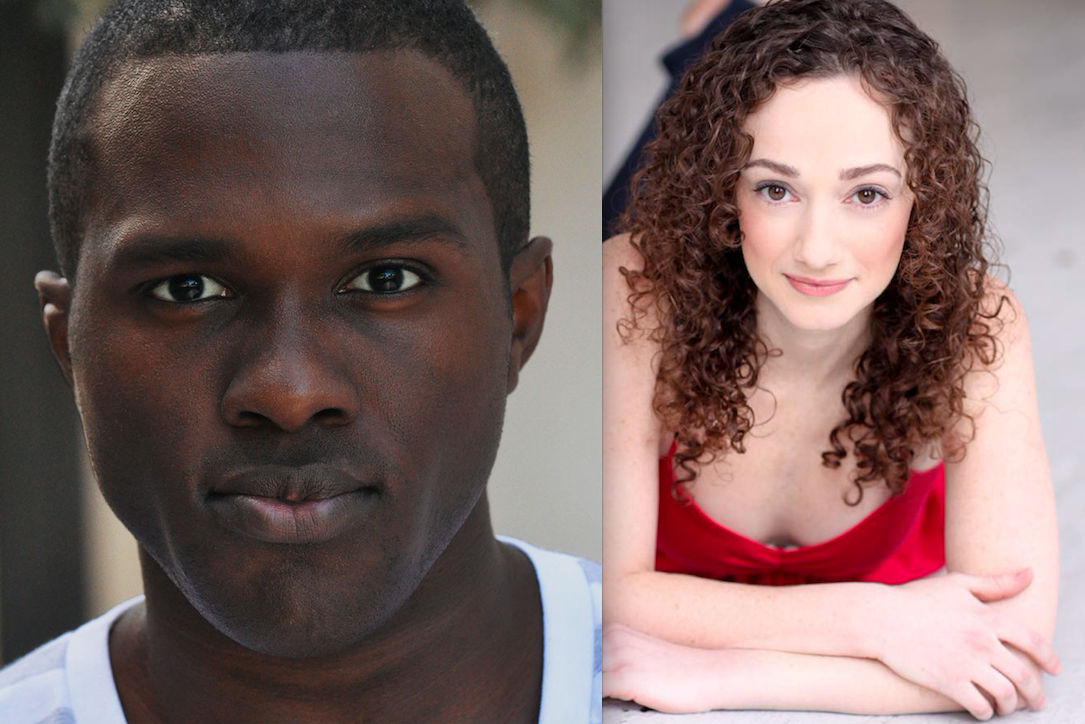 Joshua Henry and Megan McGinnis