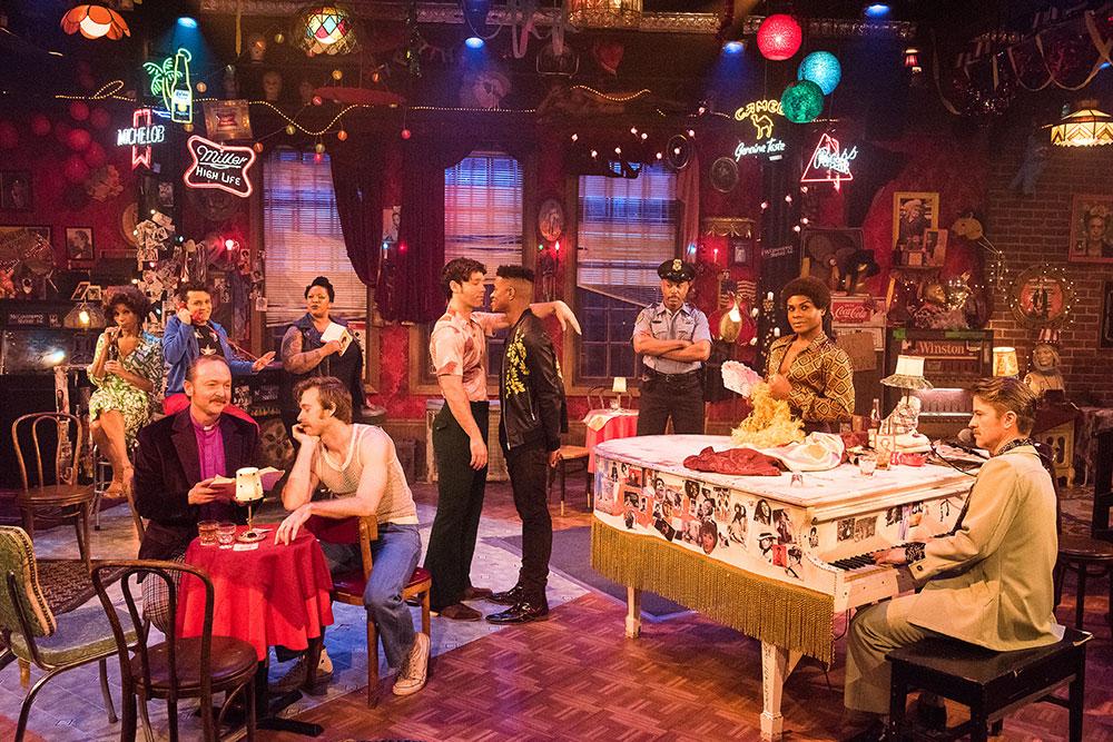 """""""The View UpStairs"""" cast, Photo Credit: Kurt Sneddon""""The View UpStairs"""" cast, Photo Credit: Kurt Sneddon"""