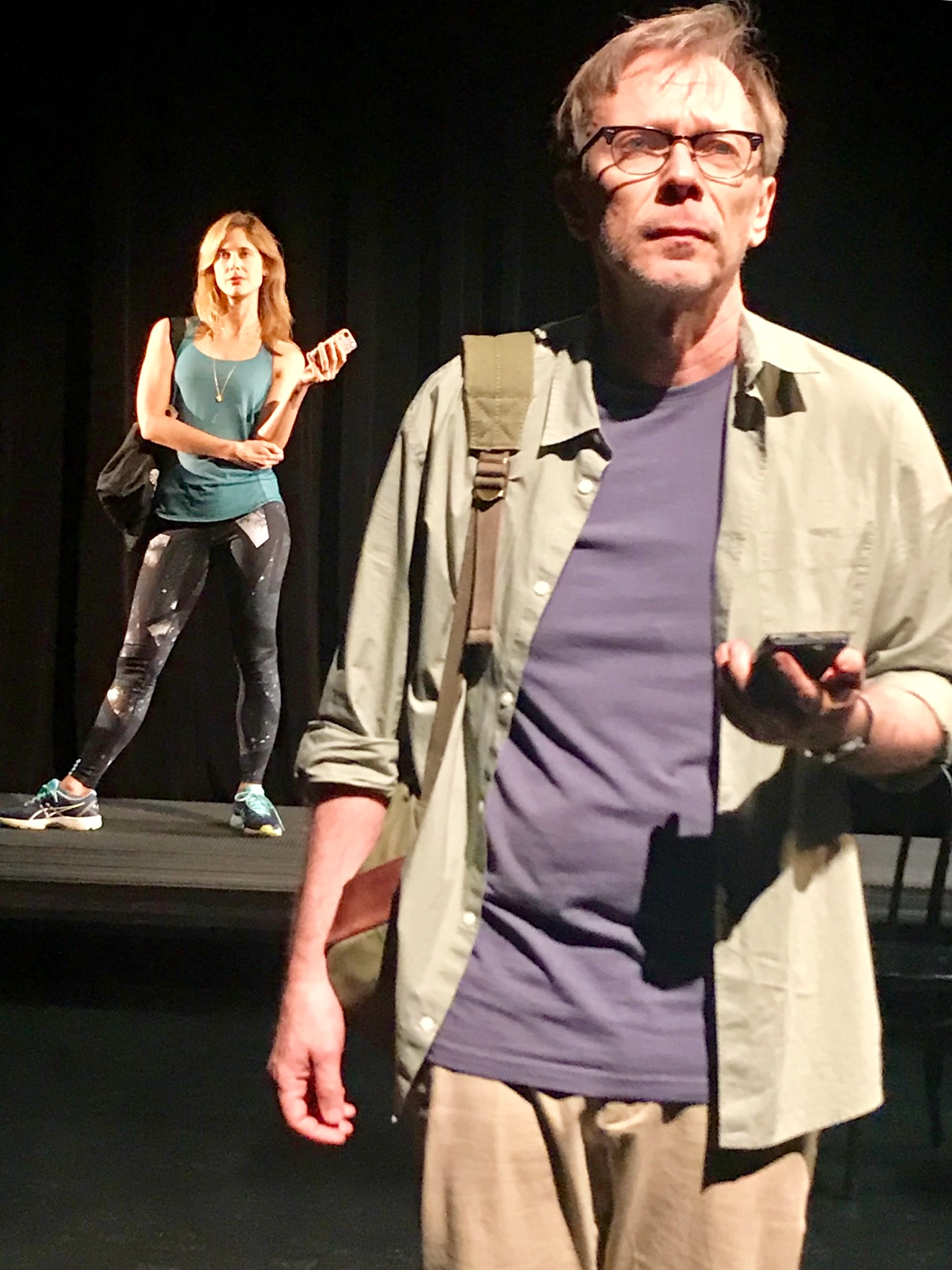 "Elizabeth Inghram and David Dean Bottrell in Mark Jason Williams' ""The Other Day"""