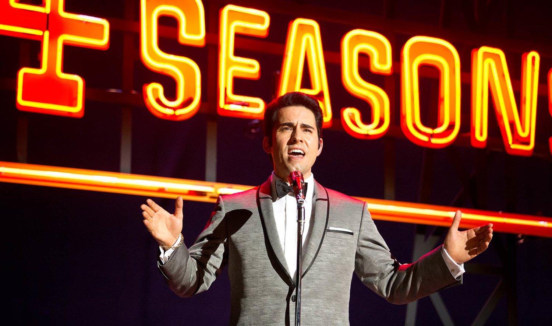 "John Lloyd Young as ""Frankie Valli"" in ""Jersey Boys"", Photo Credit: Warner Bros. Entertainment"