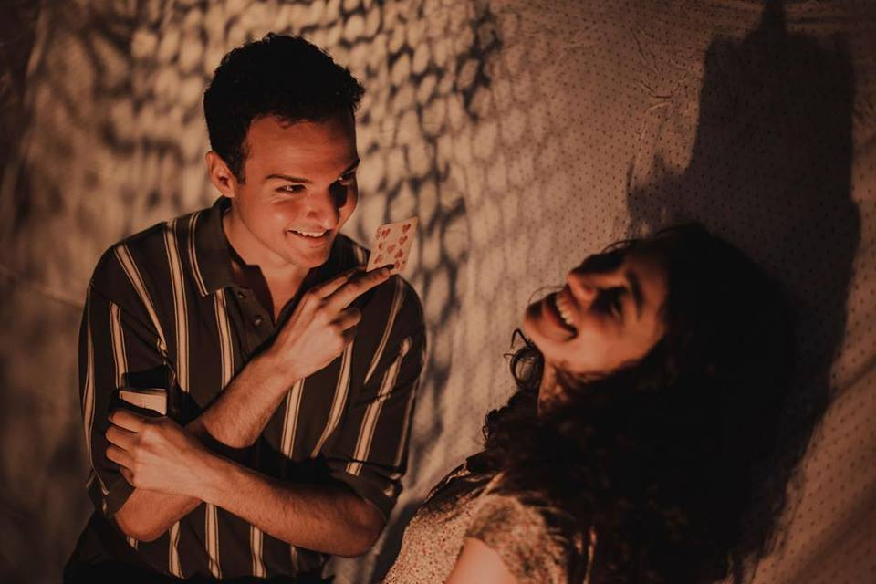 "Amar Biamonte and Rakel Aroyo in ""The Hidden Ones"", Photo Credit: Kristin Pulido"