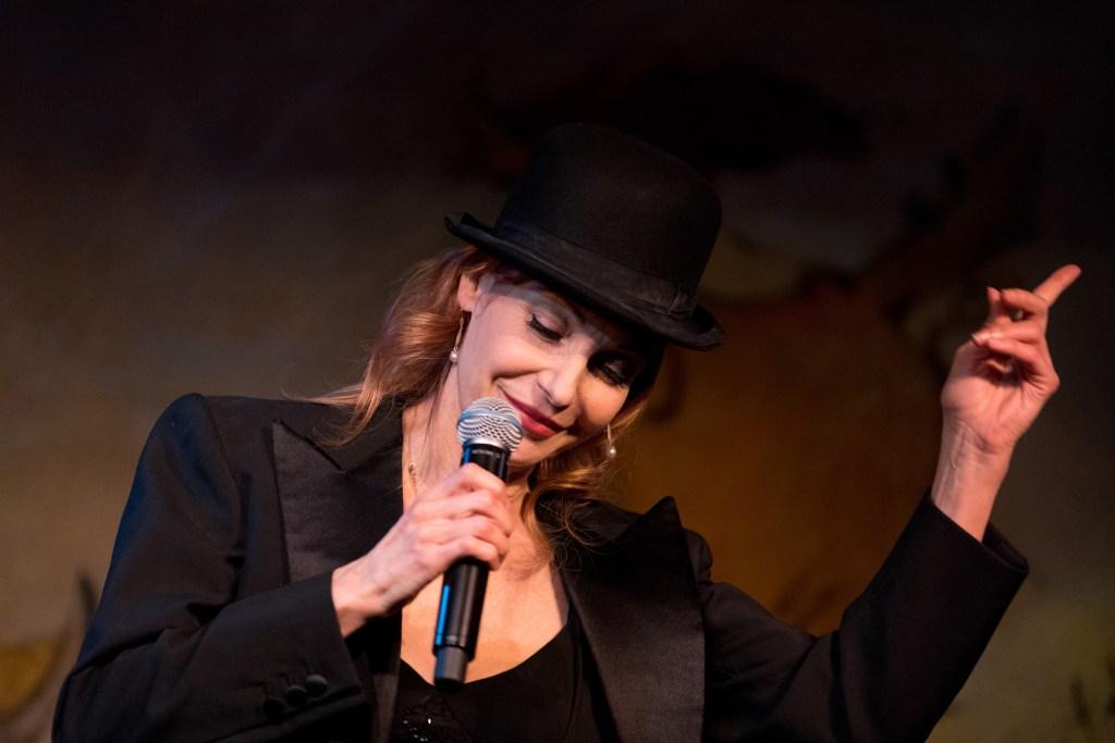 "Ute Lemper performing ""Rendezvous with Marlene"", Photo Credit: David Andrako"