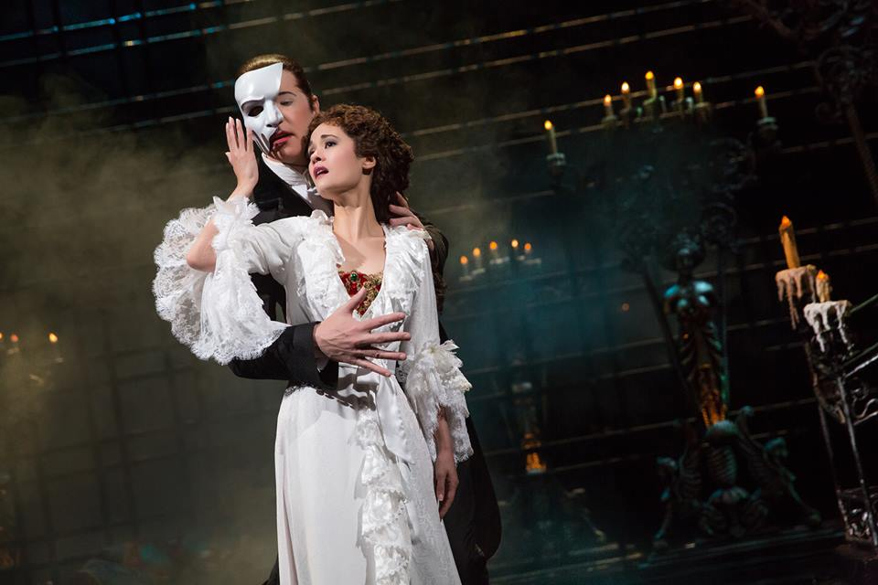 "Ali Ewoldt as ""Christine Daaé"" in ""The Phantom of the Opera"", Photo Credit Matthew Murphy (Murphy Made Photography)"