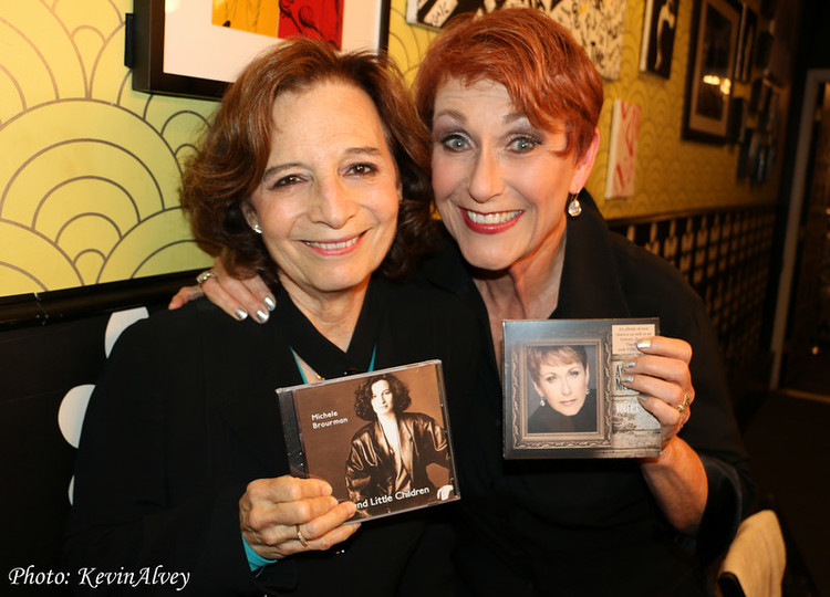 Michele Brourman (left) and Amanda McBroom (right), Photo Credit: Kevin Alvey