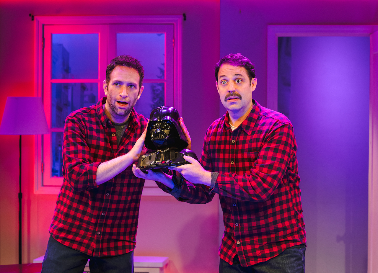 "David Rossmer (left) and Steve Rosen (right) in ""The Other Josh Cohen"", Photo Credit: Caitlin McNaney"