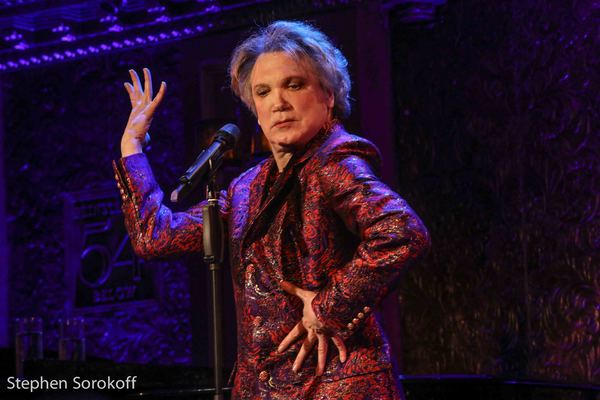 """Charles Busch performing """"Native New Yorker"""", Photo Credit: Stephen Sorokoff"""