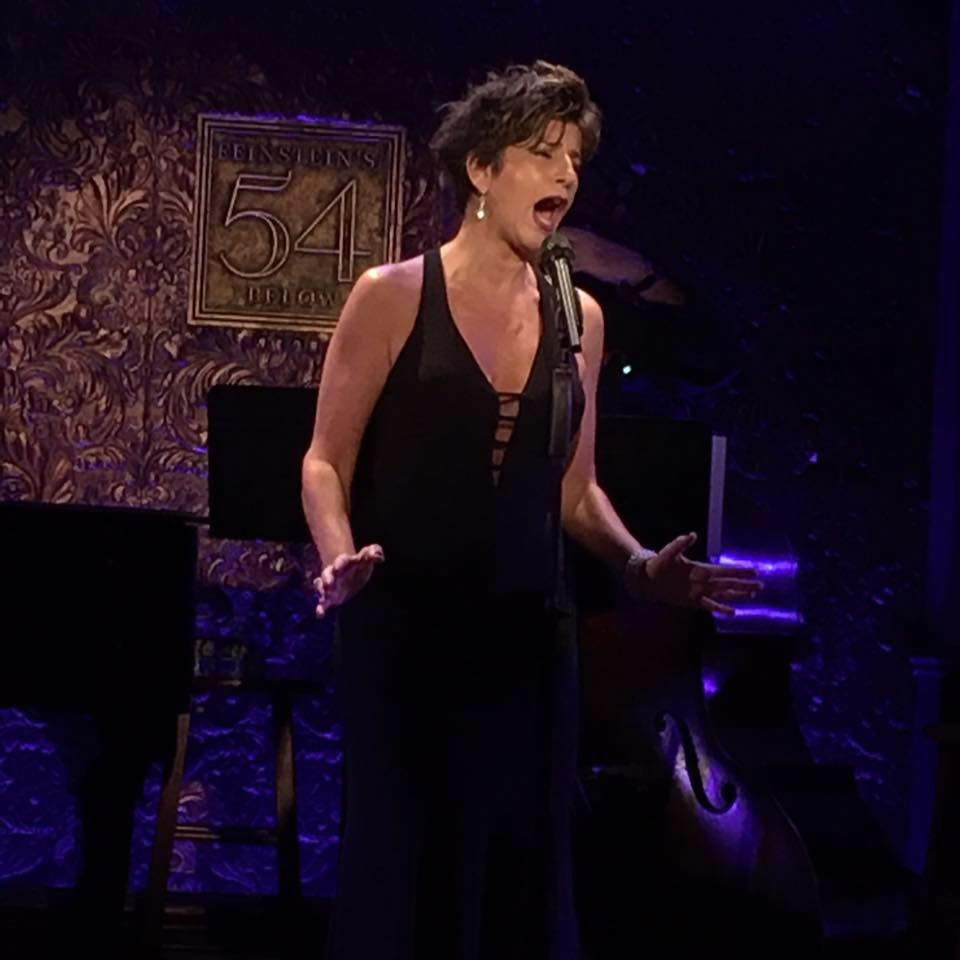 Marieann Meringolo performing at Feinstein's/54 Below