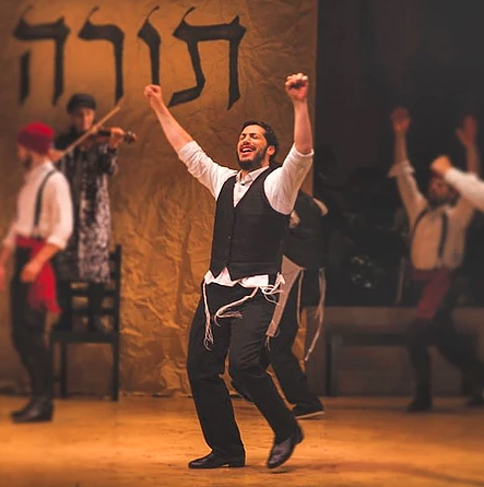 "Michael Einav in ""Fiddler on the Roof in Yiddish"""