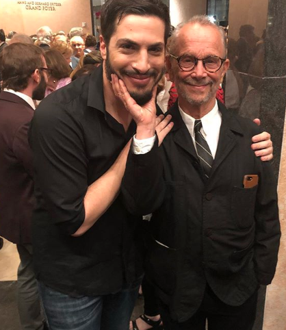 Michael Einav and the legendary Joel Grey