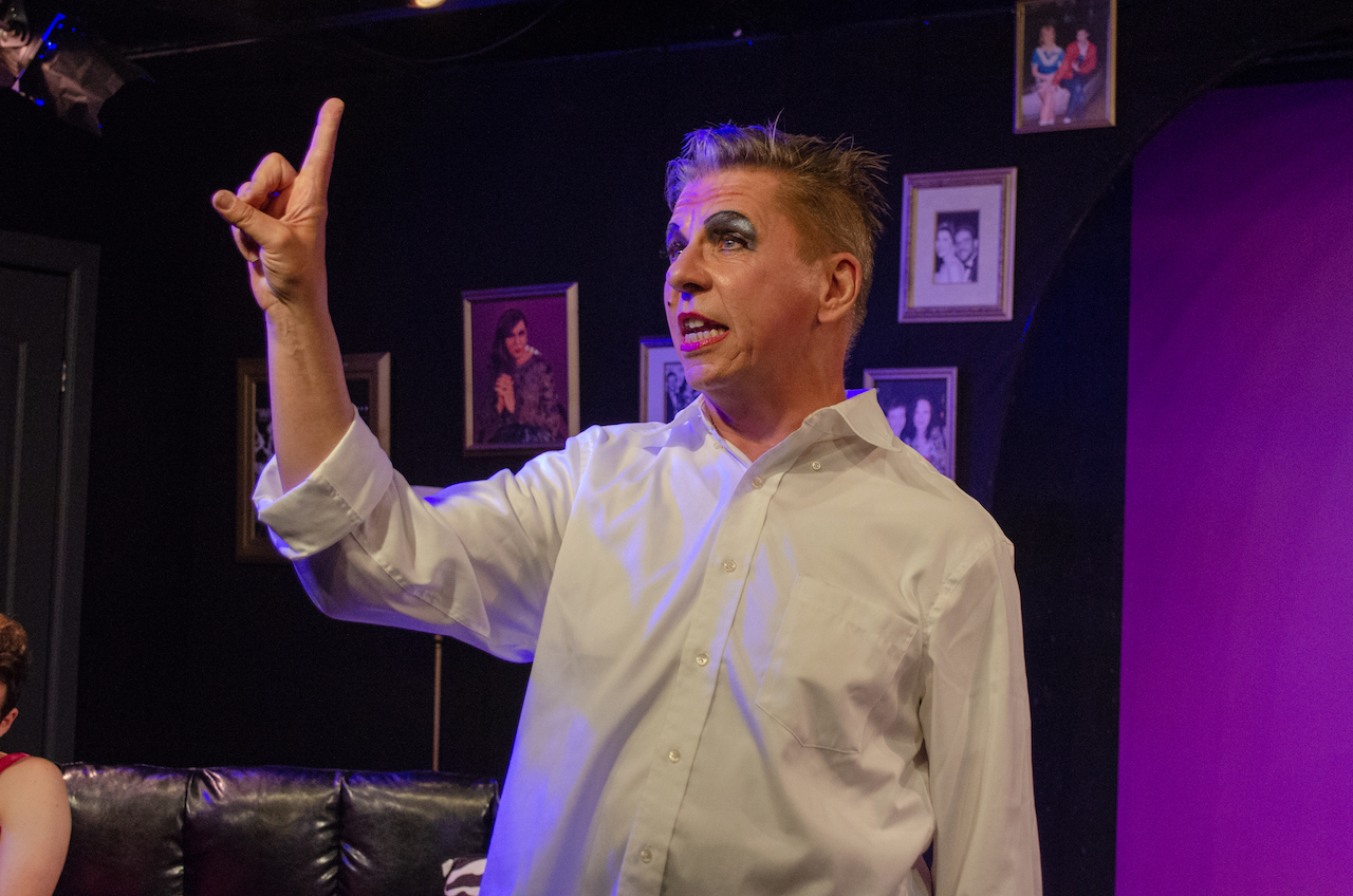 """Charles Baran in S.P. Monahan's """"Aunt Jack"""", from the Ft. Lauderdale production"""