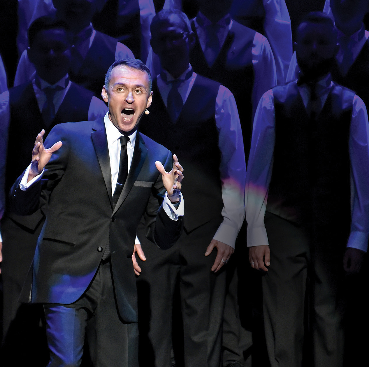 "Andrew Lippa performing at ""Unbreakable"" concert, Photo Credit: Gooch"