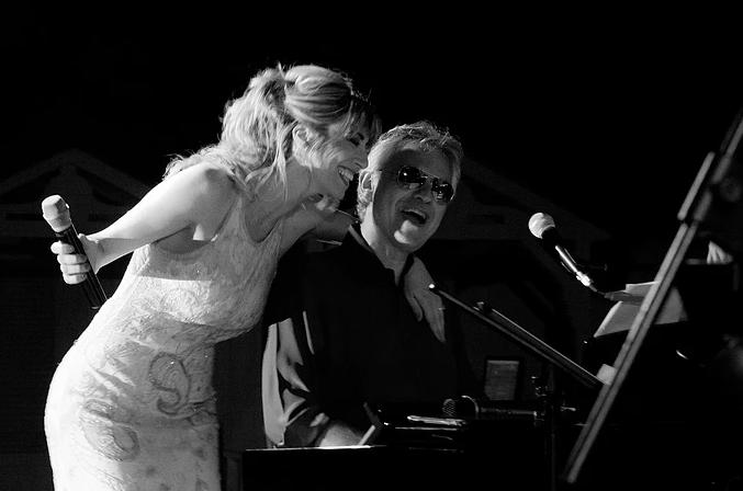 Ilaria Della Bidia and Andrea Bocelli