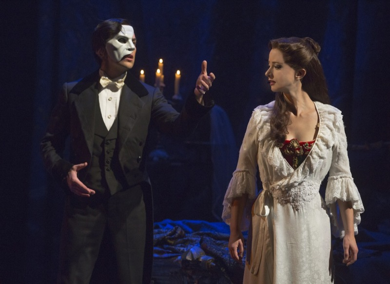 Chris Mann as The Phantom of the Opera
