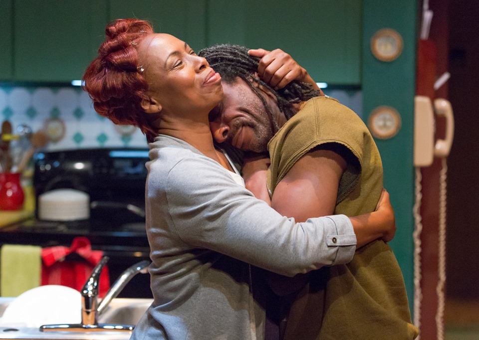 """Zuhairah and André Ward in Colman Domingo's """"Dot"""" at People's Light Theatre, Photo Credit: Mark Garvin"""