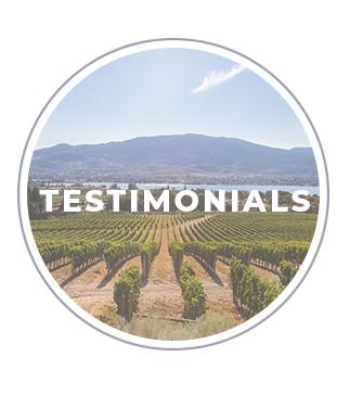 picture of an vineyard in the okanagan, british columbia } Testimonials about jorden hutchison