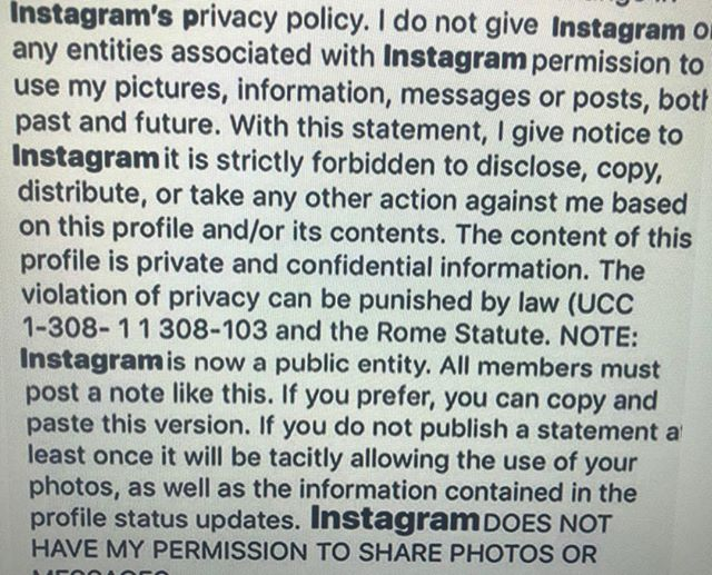 Instagram's New Privacy Rule deadline is today.