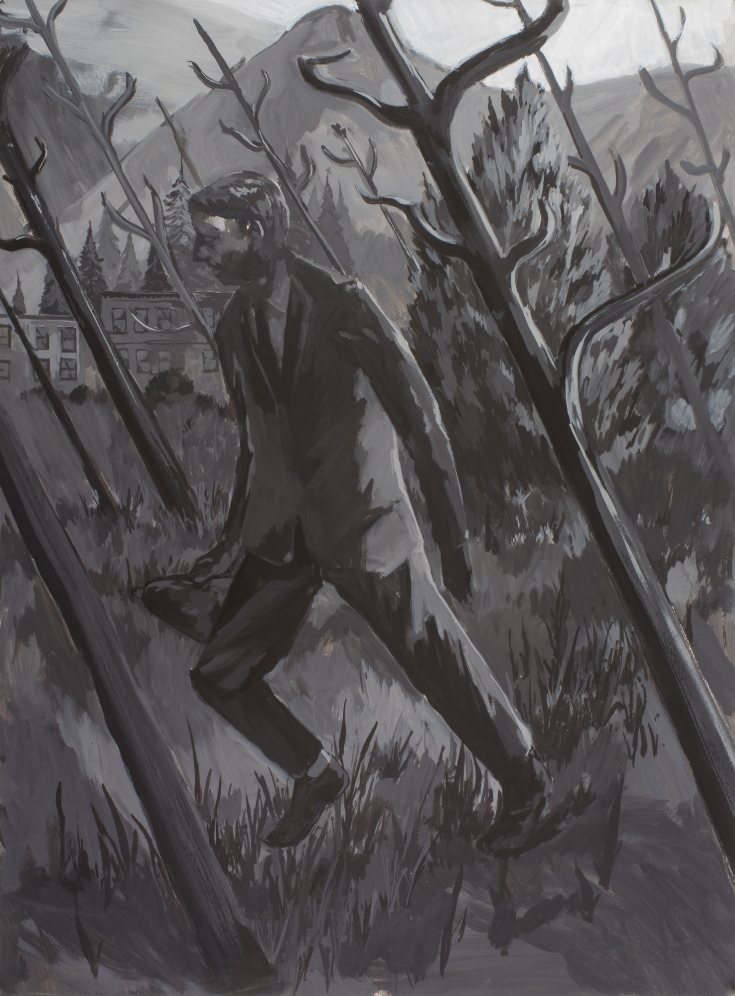 Untitled (Man in Landscape)