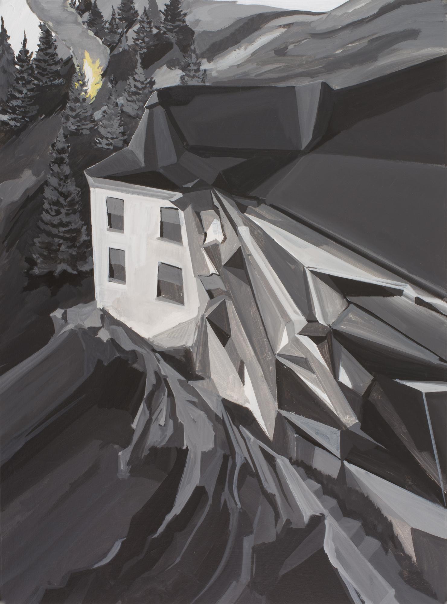 Untitled (Torqued Building)