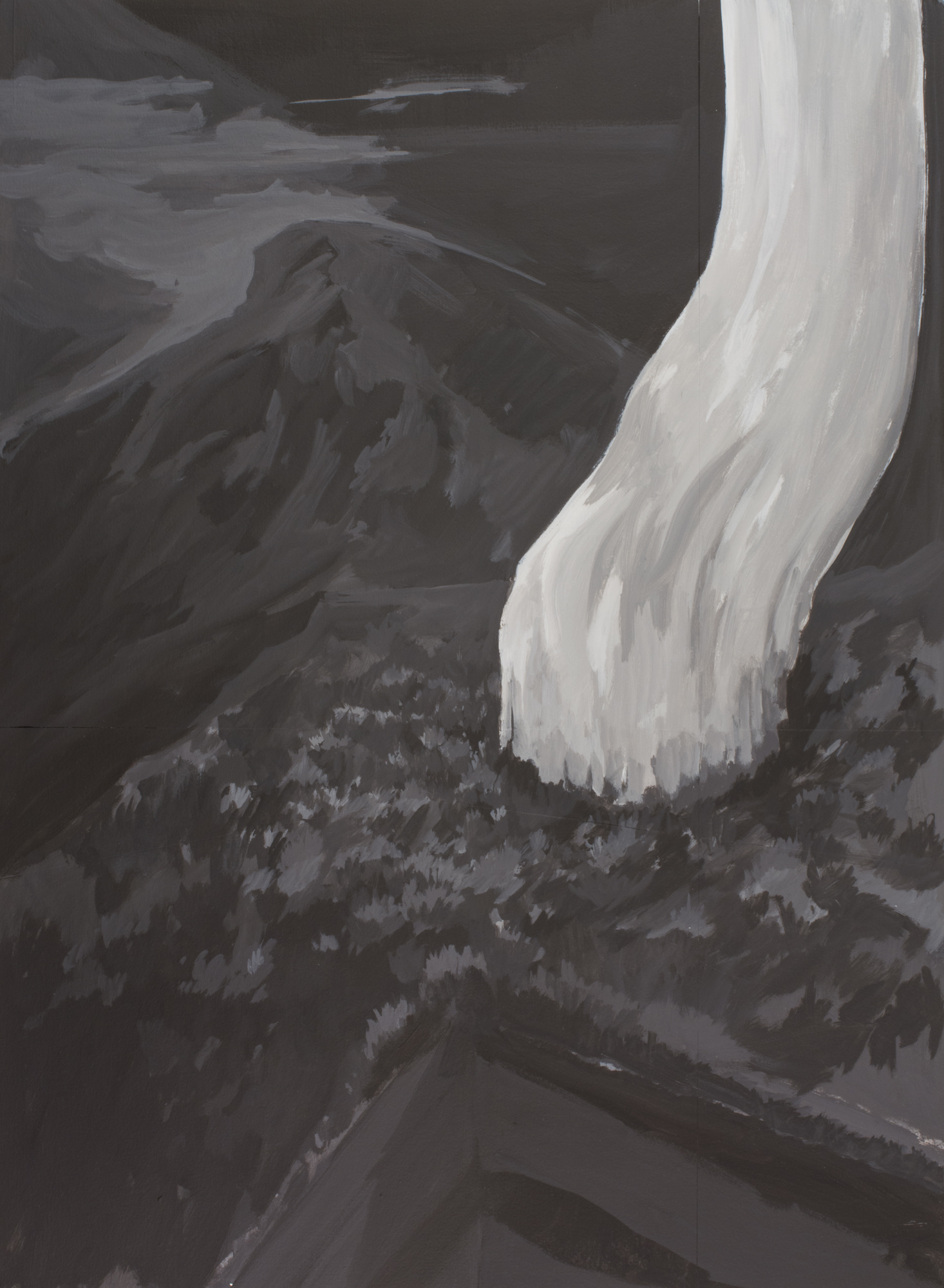 Untitled (Vertical Flow)